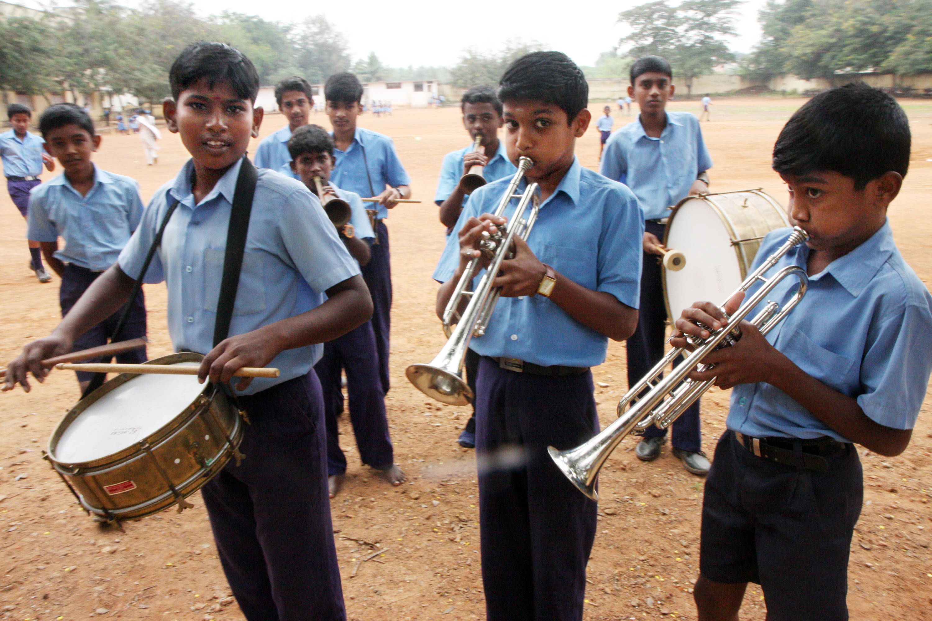The MAL School in Tamil Nadu, India, Kottaiyur, Sivagangai, Annamalai